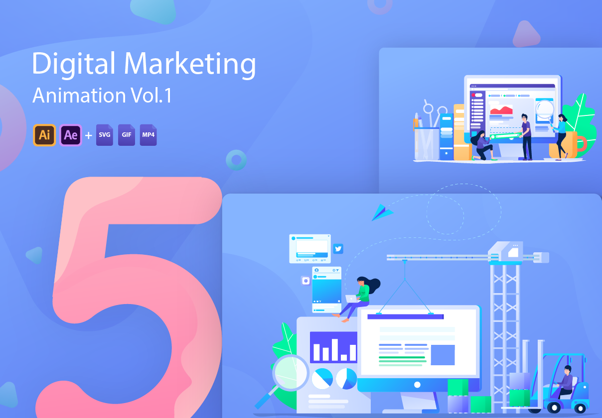 Digital Marketing Animation