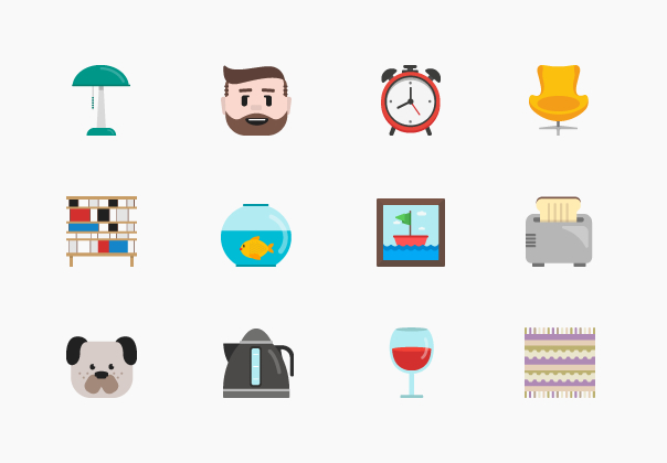 Homey Icon Set